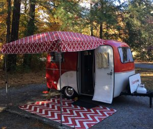 Our Tiny Red Caravan