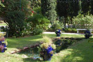 Moonlight Garden at caretaker's house.