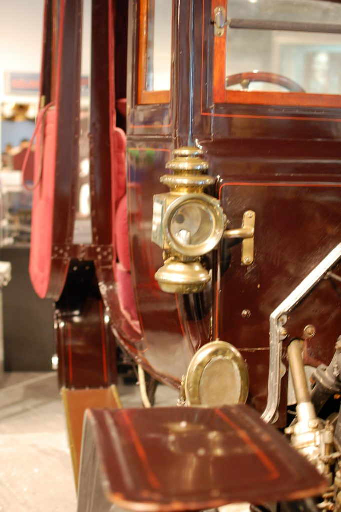 Displays from Edison ford museum