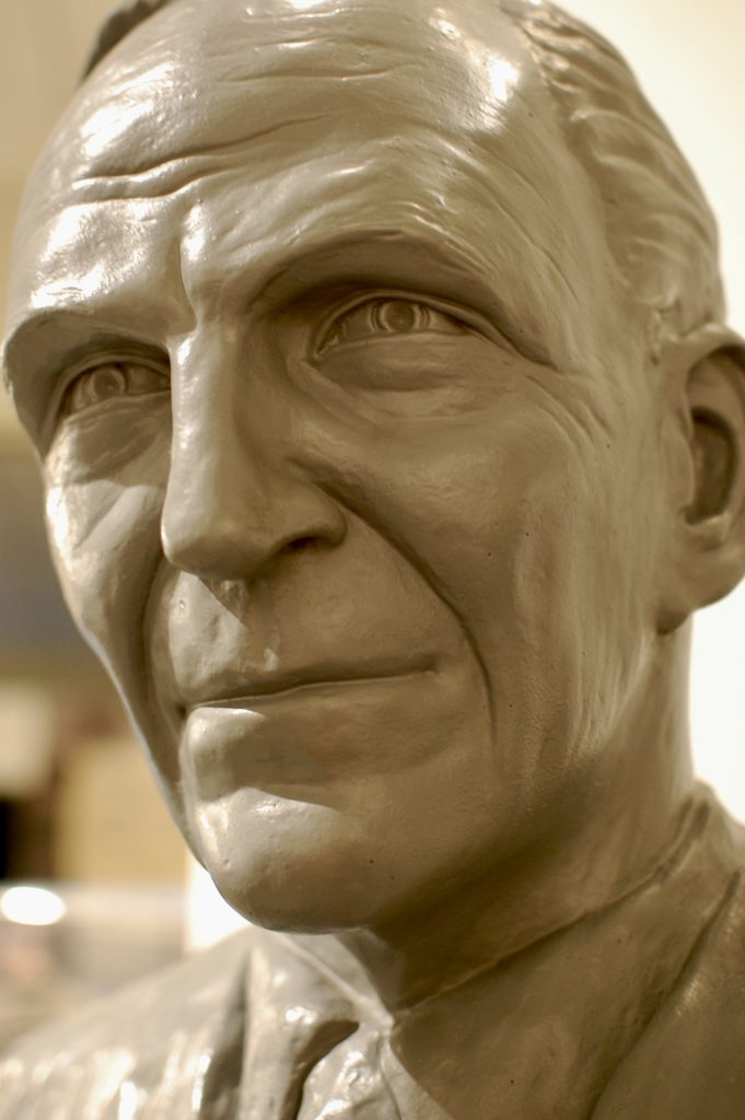 Sculpture of Henry Ford