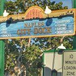 Naples City Dock sign